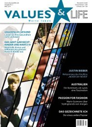 JUSTIN BIEBER AUSTRALIEN PASSION FOR ... - Values & Life