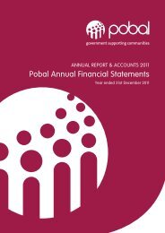 Pobal Annual Financial Statements 2011