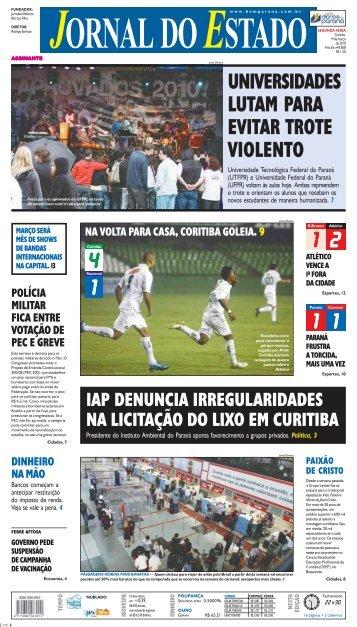4 1 1 2 1 1 UNIVERSIDADES LUTAM PARA EVITAR ... - Bem Paraná