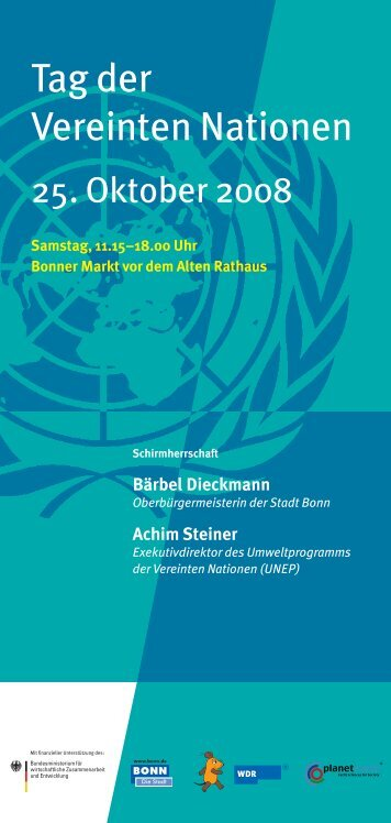 Tag der Vereinten Nationen - ZEF
