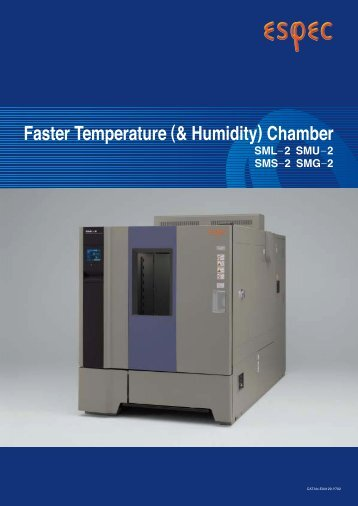 Faster Temperature (& Humidity) Chamber