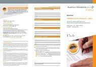 Seminar ÖNORM B 2120 (Entwurf) – NEU! - Linde Verlag
