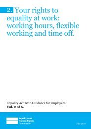 Working Time - Mersey Care NHS Trust