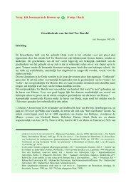 Geschiedenis van het hof Ter Borcht - Base