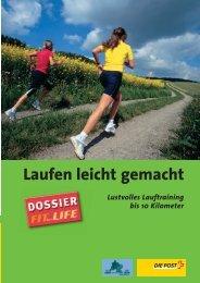 Download Dossier «Laufen leicht gemacht - Fit for Life