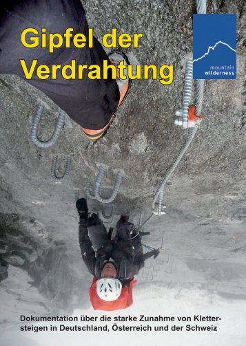 Gipfel der Verdrahtung - Mountain Wilderness Deutschland
