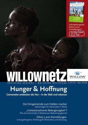 hunger & hoffnung gemeinden entdecken die not – in ... - Willow Creek