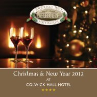 download our 2012 christmas brochure here - Things to do in ...