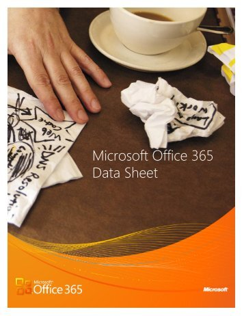 Microsoft Office 365 Data Sheet - New Horizons Computer Training