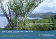 Pittwater Natural Areas draft Plan of Management ... - Pittwater Council
