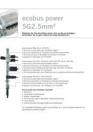 ecobus power 5G2.5mm2