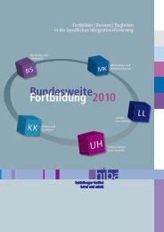 Bundesweite Fortbildung 2010