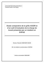 Etude comparative de la grille Aggir et...- Pascal Cancouet ... - EHPAD