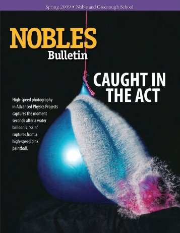 To download a PDF of the 2009 Spring Bulletin, click here.
