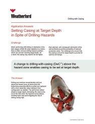 Setting Casing at Target Depth in Spite of Drilling Hazards