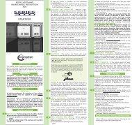 CC Series 3000 General Manual - Crompton Controls