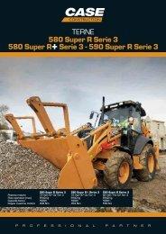 TERNE 580 Super R Serie 3 580 Super R+Serie 3 ... - Lectura SPECS