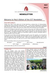 NEWSLETTER - The Churches Conservation Trust