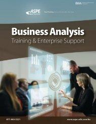 Business Analysis Training & Enterprise Support - Aspe-sdlc.com