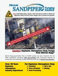 Atex brochure - SandpiperPump.com