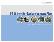 US 19 Corridor Redevelopment Plan