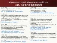 Folie 1 - RECAST Urumqi Ressourceneffizien