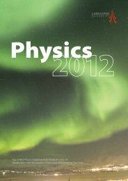 Download - Physics at Lancaster University