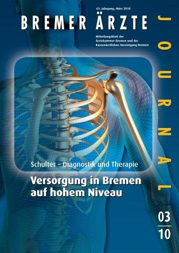 BREMER ÄRZTE JOURNAL - Ärztekammer Bremen