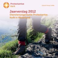 Download Publieksjaarverslag 2012 - Protestantse Kerk in Nederland
