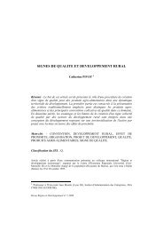 Catherine Pivot - Region et Developpement