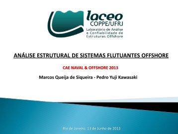 análise estrutural de sistemas flutuantes offshore - ESSS