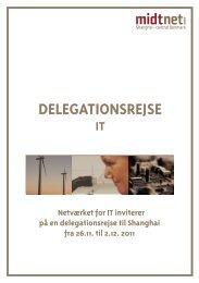 DELEGATIONSREJSE - it-forum midtjylland