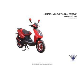 Velocity 50 Parts Catalog - Engine V01.08 - Family Go Karts