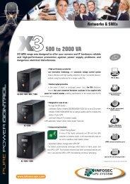 500 to 2000 VA - Infosec