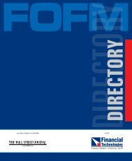 Programme Directory - Fofm.in