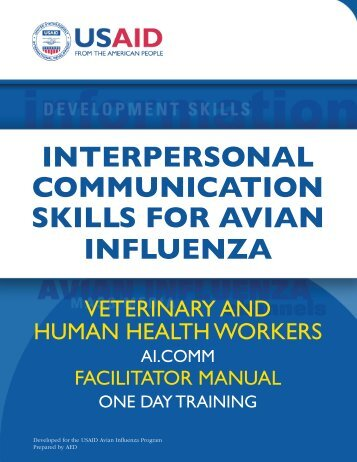 interpersonal communication skills for avian influenza - AI.Comm