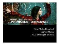 ALM Myth #1 - Serena Software