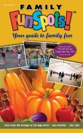 free parking! plenty of fun! - Family FunSpots! Magazine