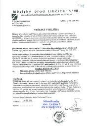 Projednávání návrhu zadání změny č. 5 územního ... - Město Roztoky