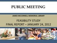 McConnell Library Feasibility Study
