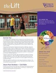 June/July Newsletter - Western Carolina University