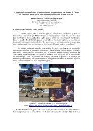Gestão da Qualidade em Meteorologia Aeronáutica - Redemet