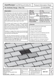 Plain Tile Ventilator