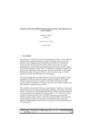 Production of radioisotopes1.doc submitted to World ... - Villa Olmo