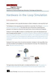 Introduction to Hardware-in-the-Loop Simulation