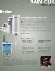 Hunter Wireless Rain / Freeze Manual
