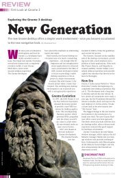 New Generation - Linux Magazine