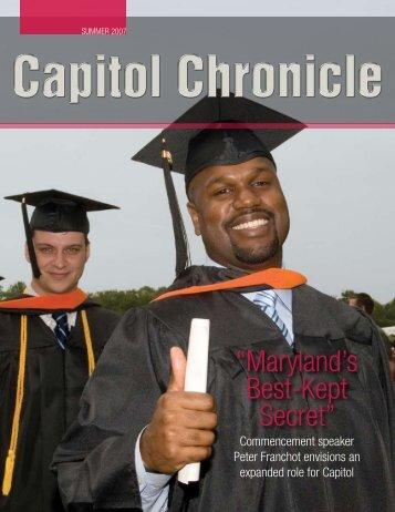"""""""Maryland's Best-Kept Secret"""" - Capitol College"""