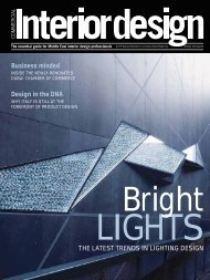 THE LATEST TRENDS IN LIGHTING DESIGN Business ... - PageSuite