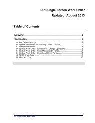 DPI Single Screen Work Order Updated - NC School Bus Safety Web